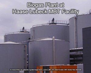 MBT Biogas Plant
