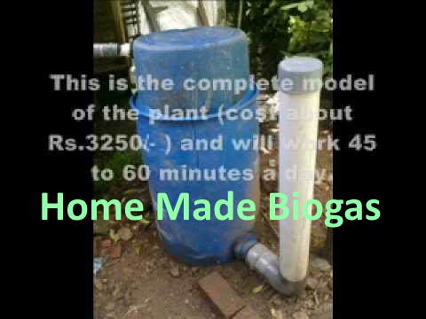 Home Made Biogas thumbnail YouTube