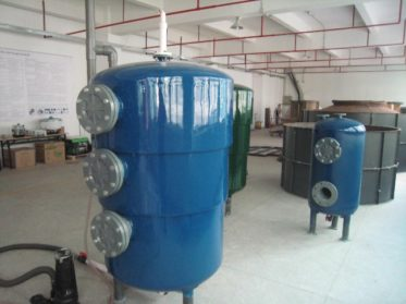 Image shows one of the less common Chinese Biogas Digester types.