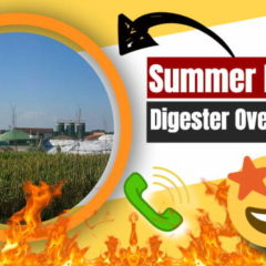 Summer Biogas Digester Overheating Prevention