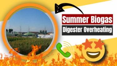 Summer Biogas Digester Overheating Prevention