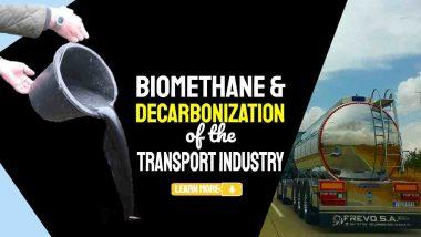 "Image text: ""biomethane decarbonisation""."